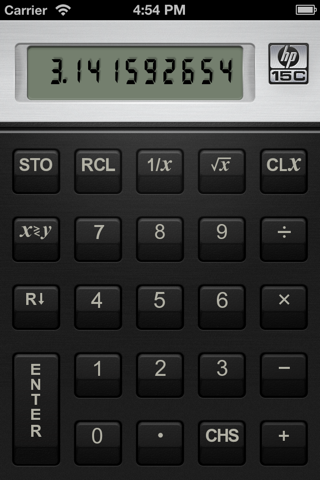 HP 15C Calculator - náhled