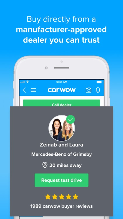 carwow: search, find, buy cars screenshot-3
