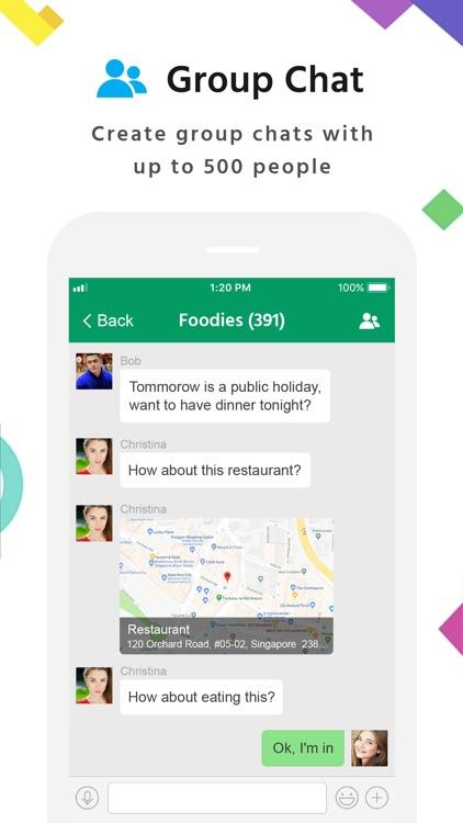 MiChat -Chat & Meet New People screenshot-4