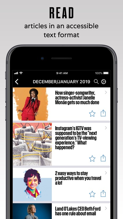 Fast Company Magazine App screenshot-2