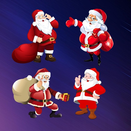Santa Claus Stickers HD