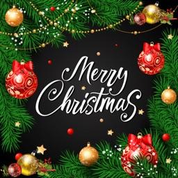Christmas Photo frame, message