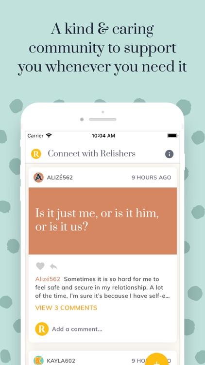 Relish - Relationship Coach screenshot-8