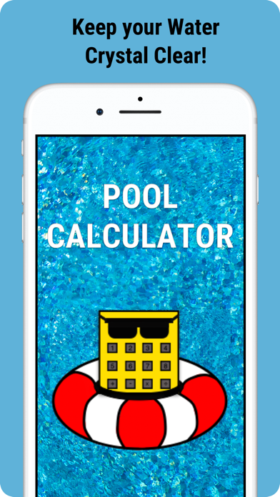 Pool-Calculator Screenshots