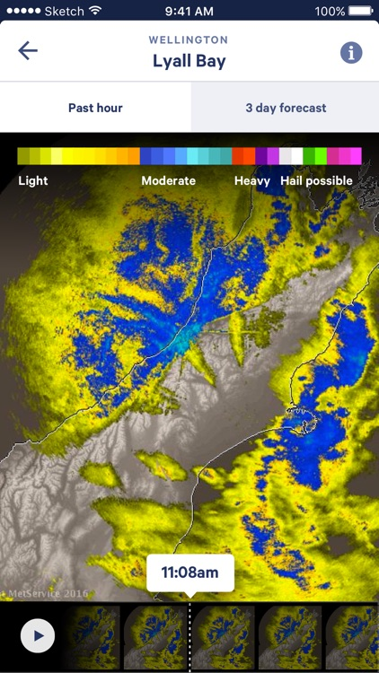 MetService screenshot-3