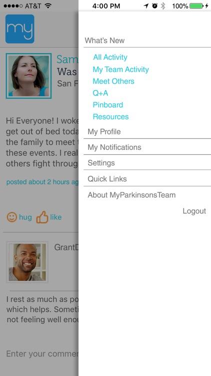 Parkinson's Social Network screenshot-4