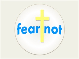 fear not stickers: includes words of encouragement from Scripture