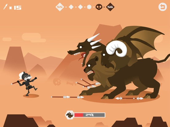 iPad Image of Hero of Archery: Idle Game