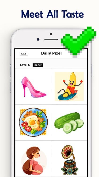 Pixel Coloring Book Game screenshot-4