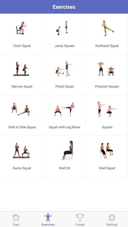 The 30 Day Squat Challenge screenshot-5