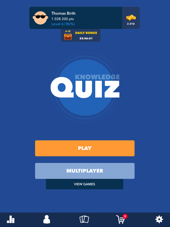 General Knowledge Quiz ! screenshot