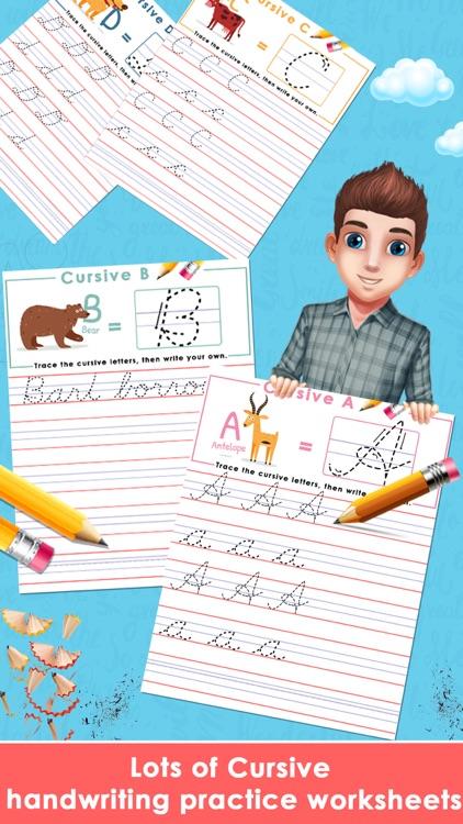 Learn Cursive Writing