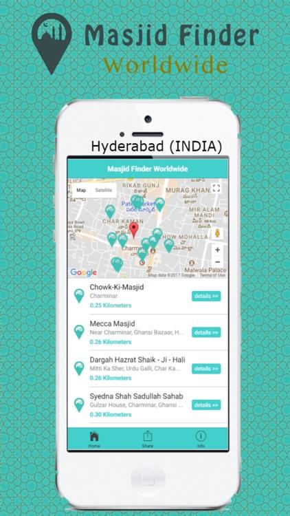 Masjid Finder Worldwide screenshot-3