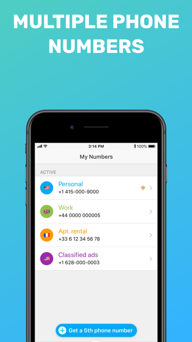 Free Tone - Calling & Texting Screenshot