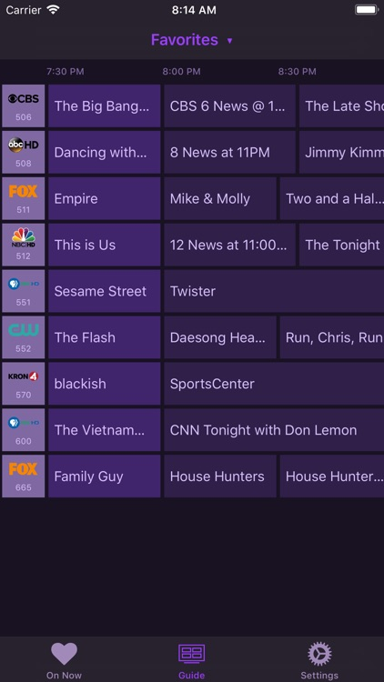Channels ‒ Live TV