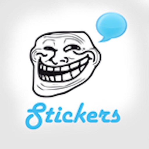 Funny Rages Faces - Stickers +