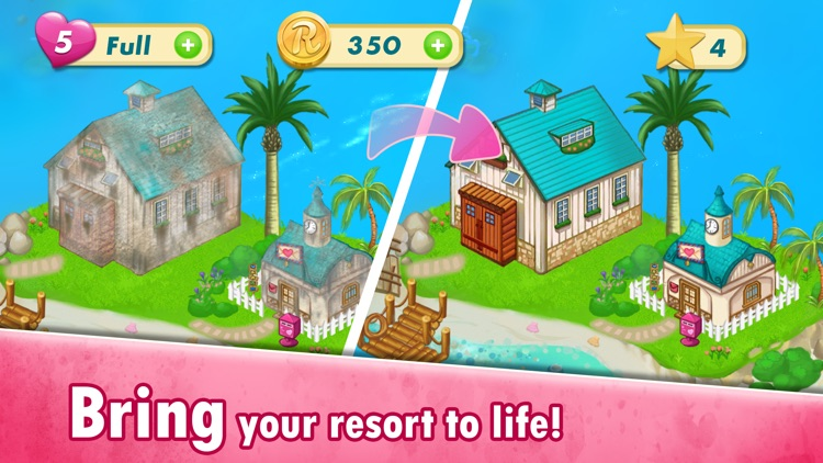 Tropic Cove: Match 3 Resort screenshot-4