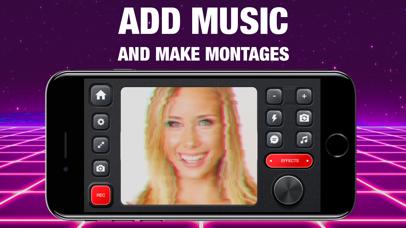 VHS Glitch Camcorder app image