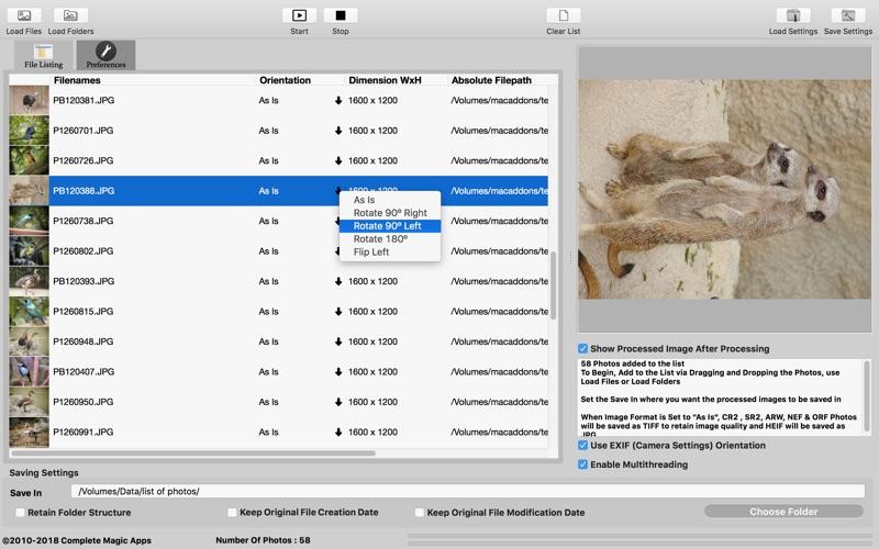 CM Batch Photo Processor for Mac