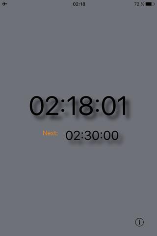 Silent Clock - náhled