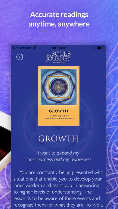 The Soul's Journey Lesson Card screenshot 5