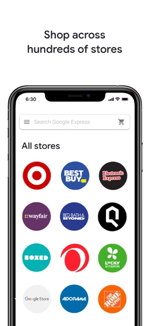 Google Express One Stop Shop On The App Store