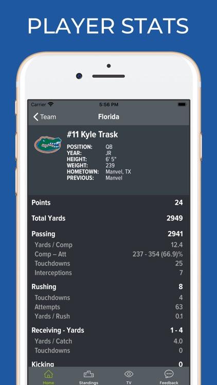 Florida Football Schedules screenshot-3