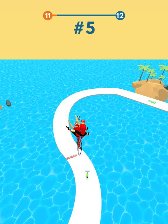 Cycling Stack Race screenshot 9
