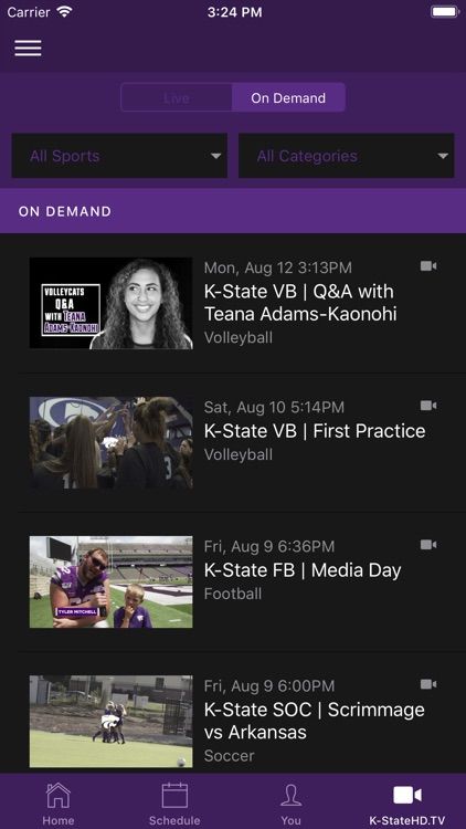 K-State Athletics screenshot-3