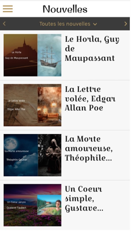 French audiobooks (with text)