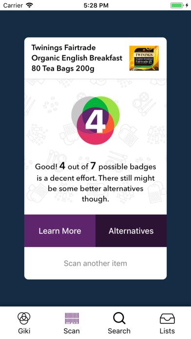 Giki Badges screenshot two