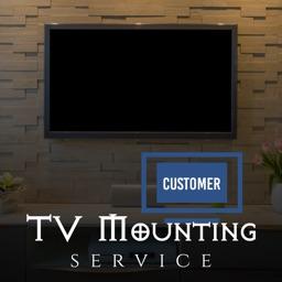 TV Mounting Service Customer