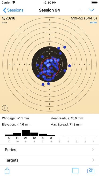 TargetScan - Pistol & Rifle screenshot-0