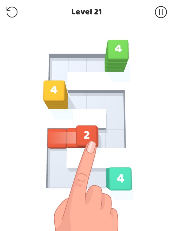 iPad Image of Stack Blocks 3D