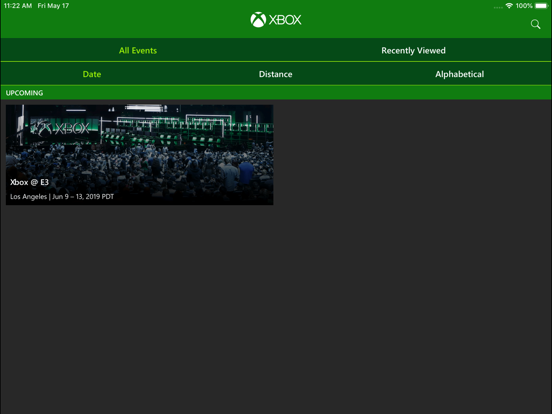 Xbox Events screenshot 5