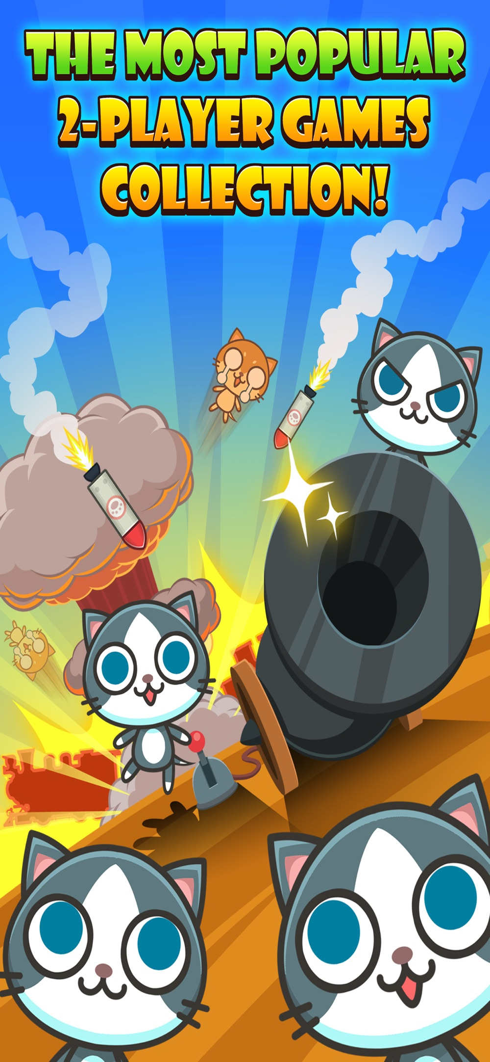 Cats Carnival -2 Player Games Cheat Codes