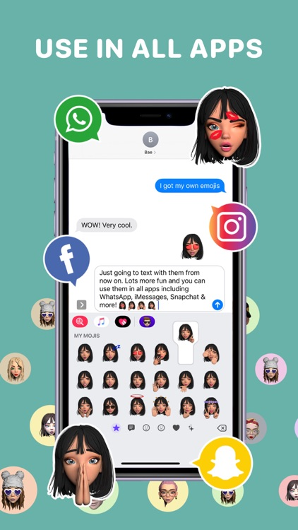 Moji Edit- Avatar Emoji Maker screenshot-5