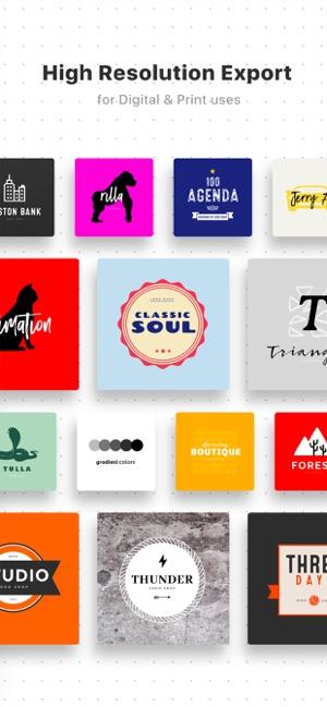 ff361fceb54  Logo Maker Shop on the App Store