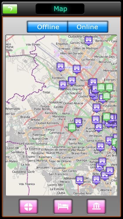 Bogota Offline Map Guide