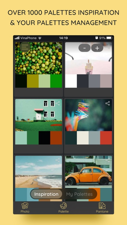 iPalettes - Color palettes screenshot-0
