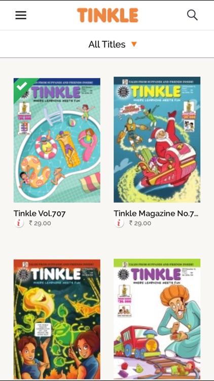 Tinkle Comics