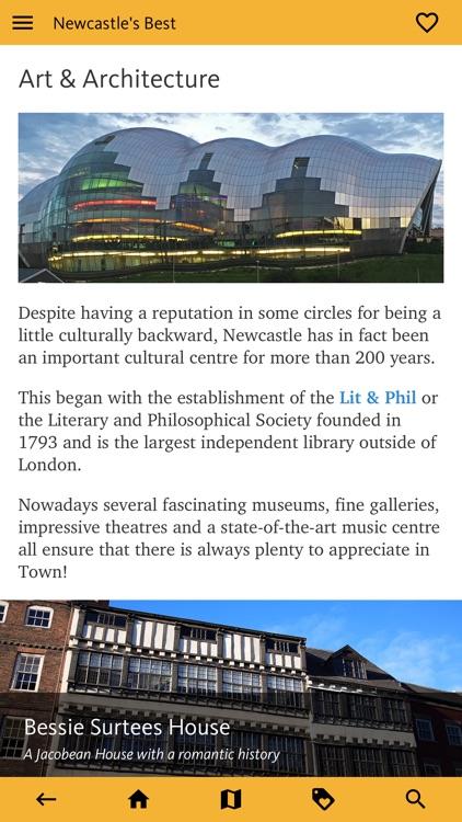 Newcastle's Best: Travel Guide screenshot-6