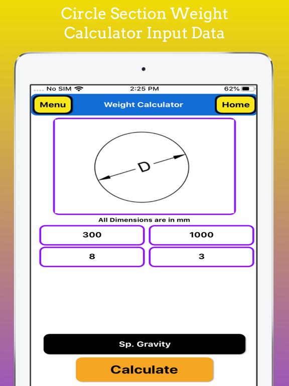 Fabrication Weight Calculator screenshot 16