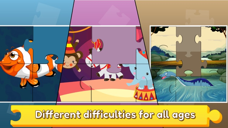 Baby puzzle games for kids 2 screenshot-0