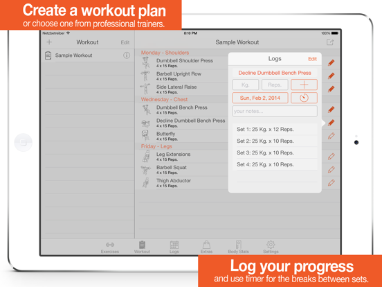 Fitness Point Pro - Gym Buddy Screenshots