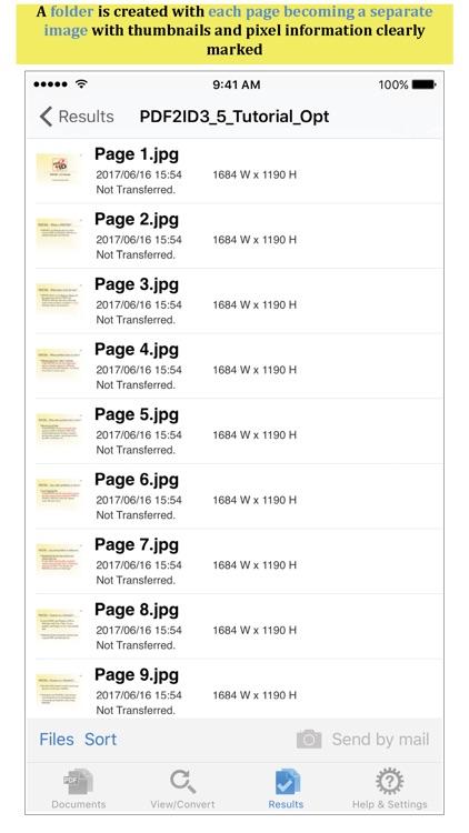 PDF to JPEG by PDF2Office screenshot-3