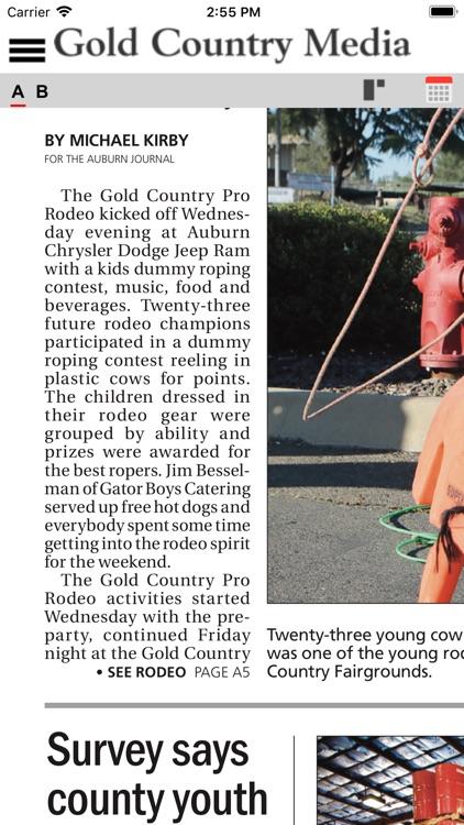 Gold Country Media News screenshot-4