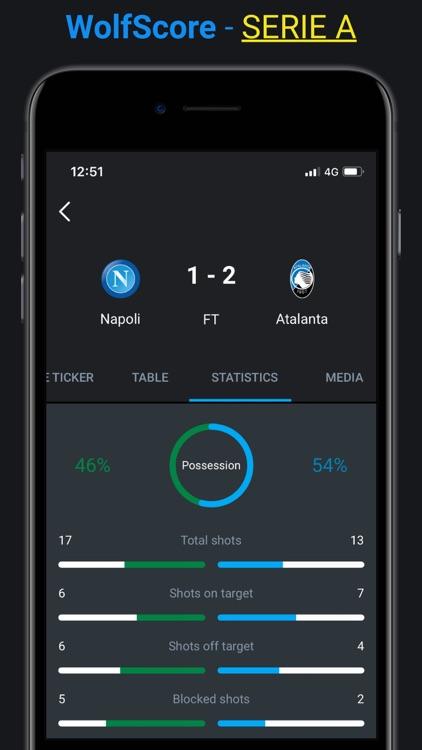 WolfScore -Live Football Score screenshot-7