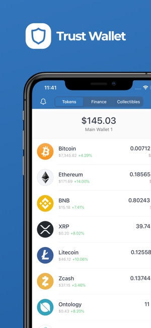 cryptocurrency wallet ios