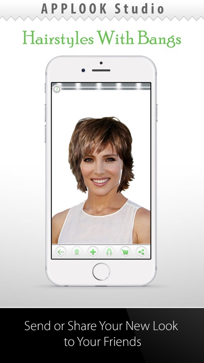 Hairstyle Try On With Bangs screenshot-3